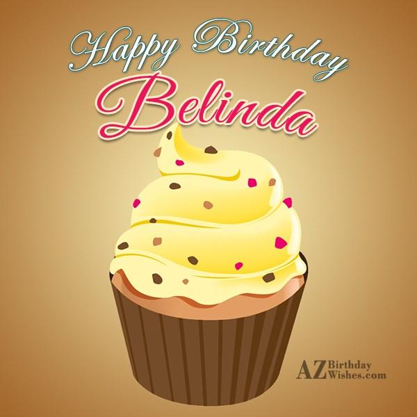 Happy Birthday Belinda - AZBirthdayWishes.com