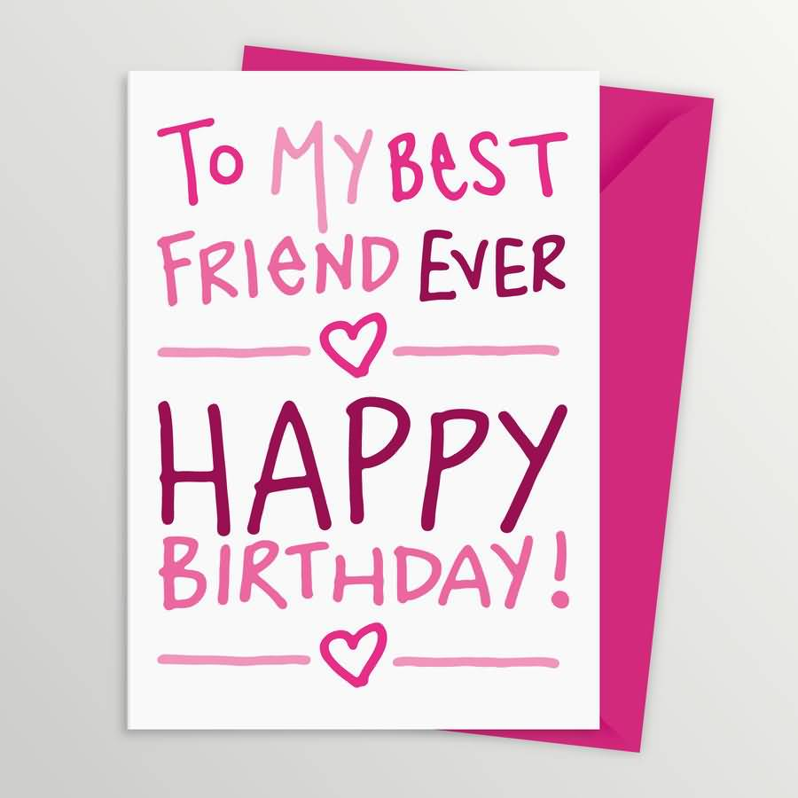 17 Best Images About Birthday Cards On Pinterest: Birthday Wishes For Best Friend