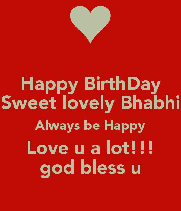 Happy birthday sweet lovely bhabi… - AZBirthdayWishes.com