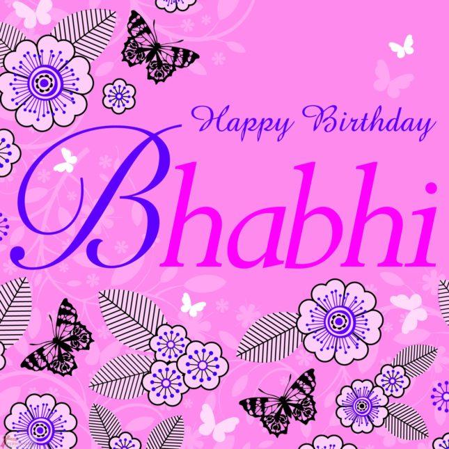 Happy birthday bhabi… - AZBirthdayWishes.com