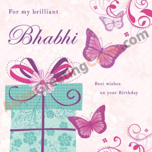 For my brilliant bhabi. Happy Birthday… - AZBirthdayWishes.com