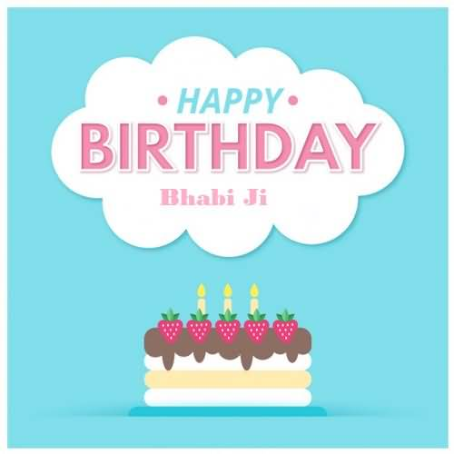 Happy Birthday bhabi ji… - AZBirthdayWishes.com