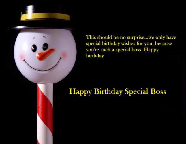 Happy birthday special boss… - AZBirthdayWishes.com