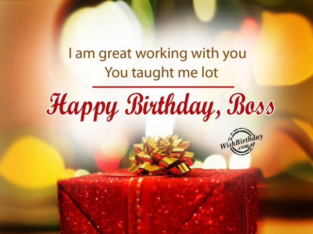 I feel great working with you… - AZBirthdayWishes.com