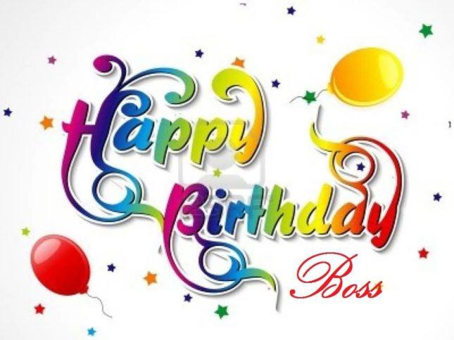 Happy birthday boss… - AZBirthdayWishes.com