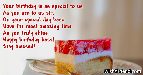 Your birthday is as special to us as… - AZBirthdayWishes.com