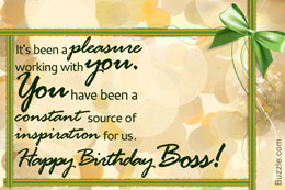 It's been a pleasure working with you… - AZBirthdayWishes.com