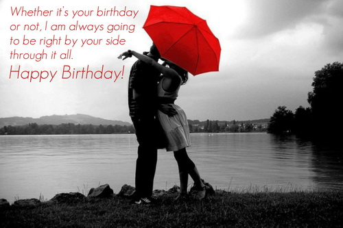 Happy birthday my darling boyfriend… - AZBirthdayWishes.com