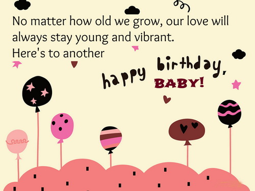 Happy birthday baby… - AZBirthdayWishes.com