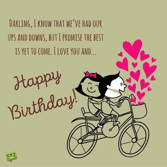 I love you and happy birthday m4hsunfo