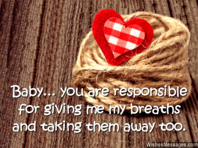 You are responsible for giving my breaths and taking them away too.Happy birthday love… - AZBirthdayWishes.com