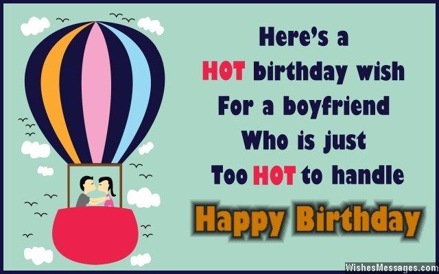 A hot birthday wish to a hot boyfriend… - AZBirthdayWishes.com