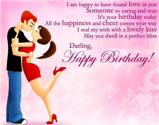 Happy birthday darling… - AZBirthdayWishes.com