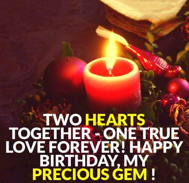 Happy birthday my precious gem… - AZBirthdayWishes.com