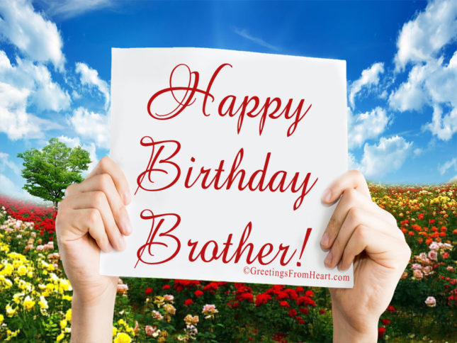 Happy birthday brother… - AZBirthdayWishes.com