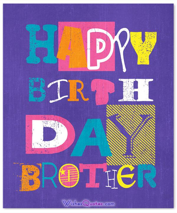 Happy birthday brother… - AZBirthdayWishes.com