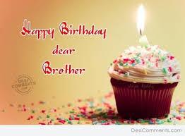 Happy birthday dear brother… - AZBirthdayWishes.com