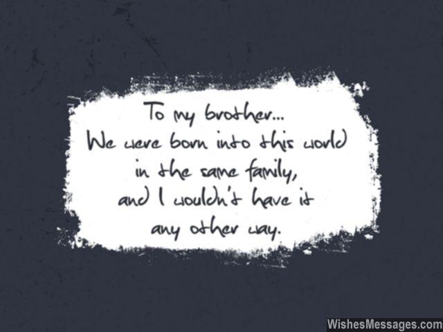 Happy birthday to my brother… - AZBirthdayWishes.com