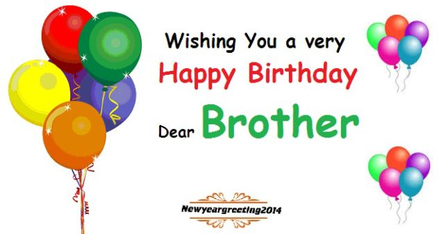 Wishing you a very happy birthday brother… - AZBirthdayWishes.com