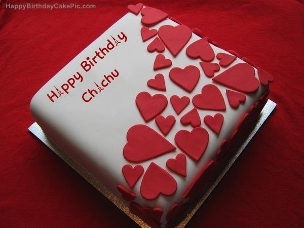 Happy Birthday Chachu on cake… - AZBirthdayWishes.com