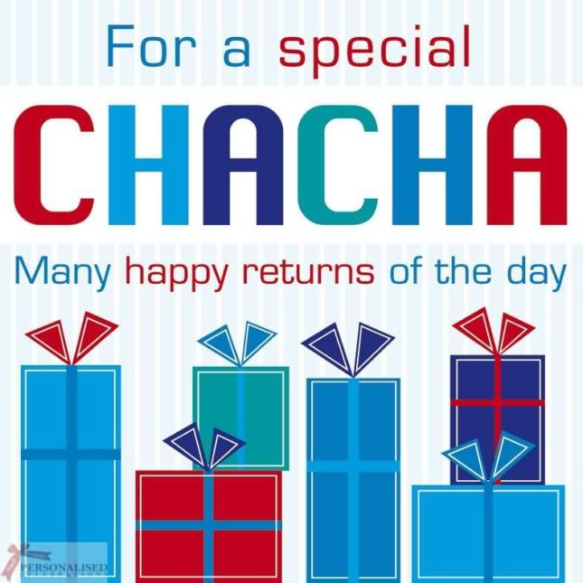 For a special chacha…Happy Birthday … - AZBirthdayWishes.com