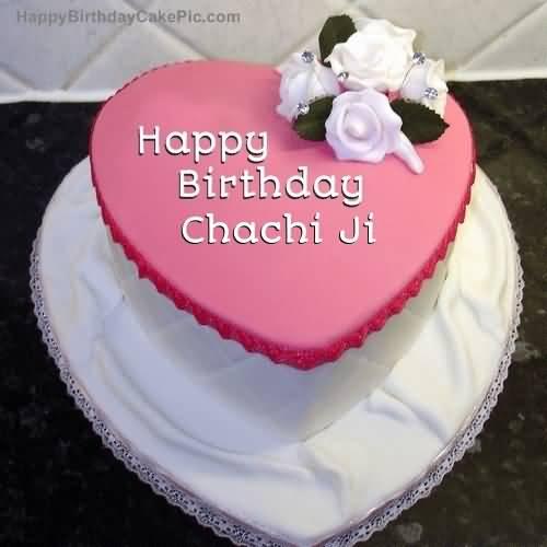 Happy Birthday dear chachi ji on cake… - AZBirthdayWishes.com