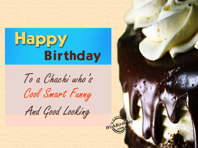 Happy Birthday chachi ji who is… - AZBirthdayWishes.com