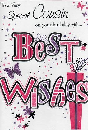 To a very special cousin… - AZBirthdayWishes.com