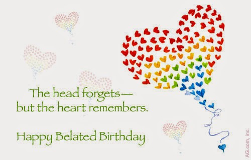 The head forgets… - AZBirthdayWishes.com