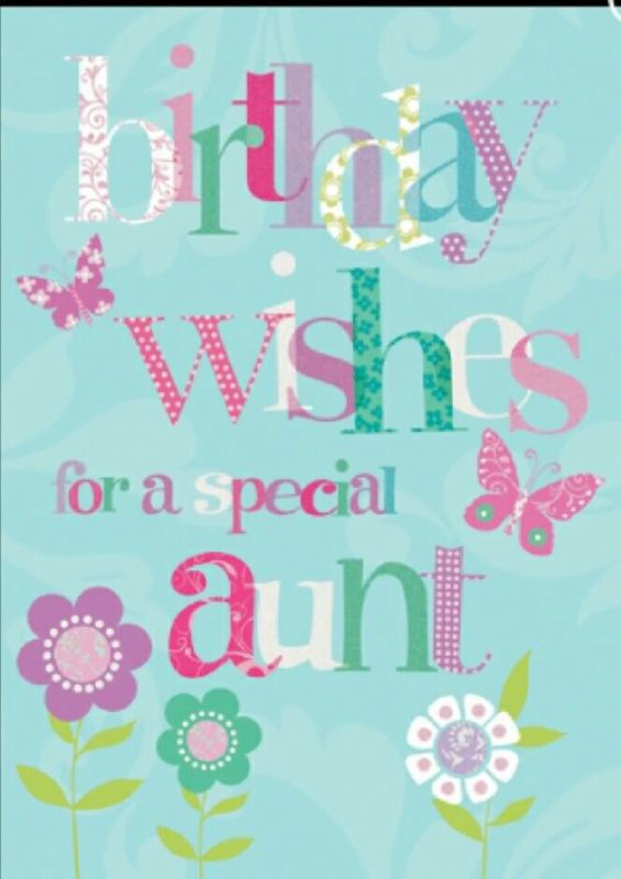 Birthday Wishes for a special aunt… - AZBirthdayWishes.com