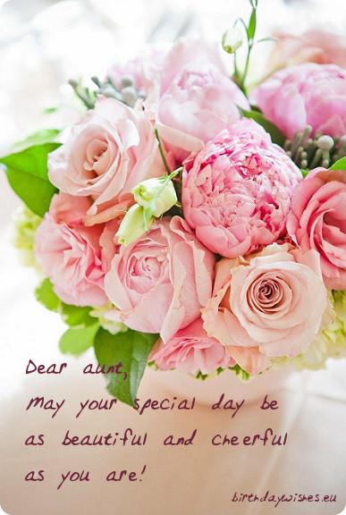 Birthday wishes for aunt m4hsunfo