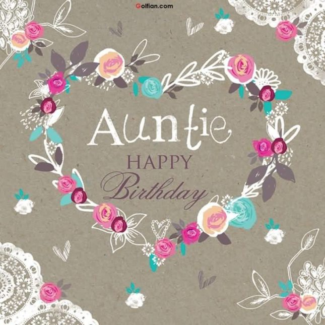 Auntie Happy Birthday… - AZBirthdayWishes.com