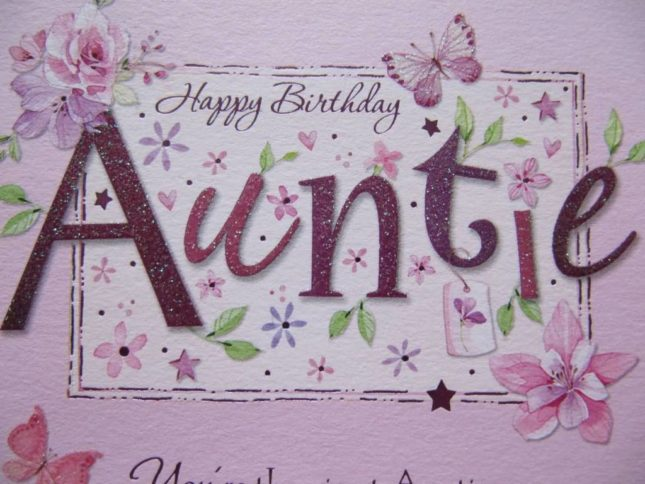 Beautiful Happy birthday wish for auntie… - AZBirthdayWishes.com