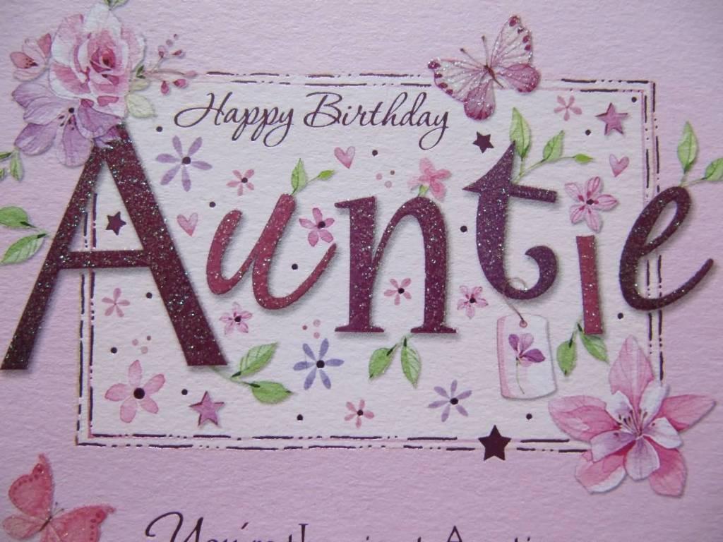 Beautiful Happy Birthday Wish For Auntie