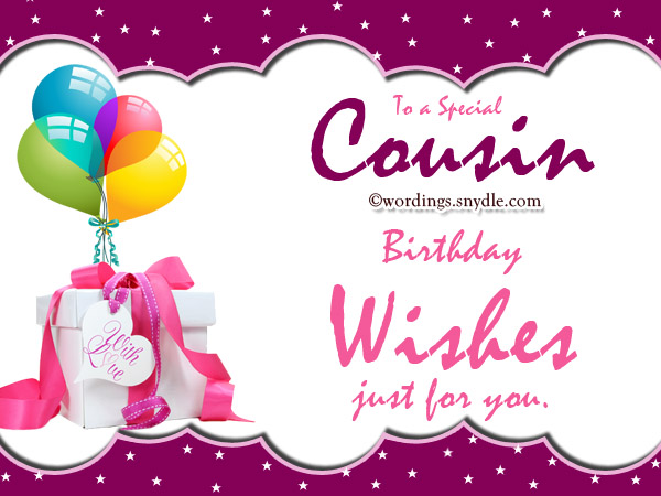 Happy Birthday to a special cousin… - AZBirthdayWishes.com
