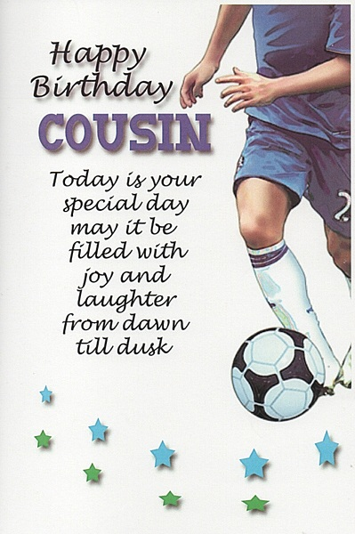 To a special cousin on your birthday… - AZBirthdayWishes.com