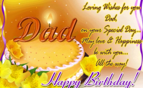 Loving wishes for you on your special dad dad… - AZBirthdayWishes.com