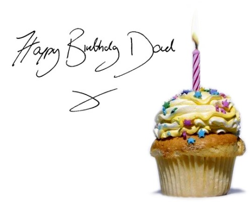 Happy Birthday dad with cake… - AZBirthdayWishes.com