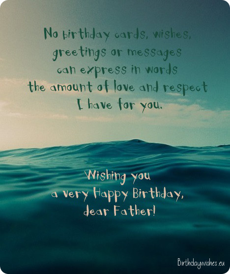 Nothing could express the love I have for you. Happy Birthday daddy… - AZBirthdayWishes.com