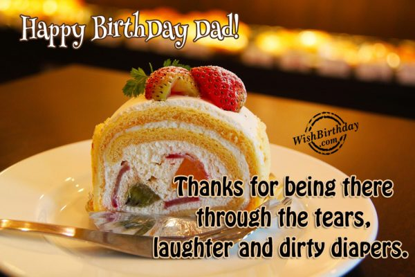 Thanks for being there… - AZBirthdayWishes.com