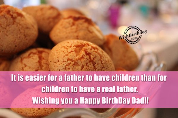 Wishing you a Happy Birthday dad… - AZBirthdayWishes.com